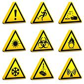 Safety Signs - Set01