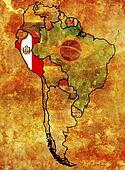 peru flag territory