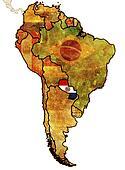 paraguay flag territory