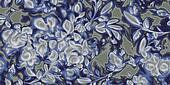 flower damask pattern