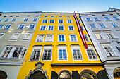 Birthplace of Mozart in Salzburg