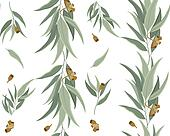Pattern Eucalyptus