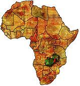 zambia old map