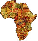 africa old map