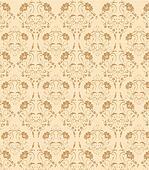 seamless flower damask pattern