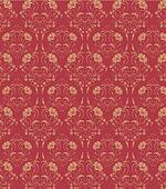 flower seamless damask pattern