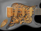 Clockwork guitar