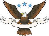 Bald eagle insignia