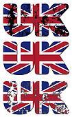 uk text flag
