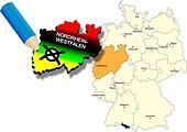 North Rhine-Westphalia state election 2010