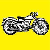 moto motocycle retro vintage classic