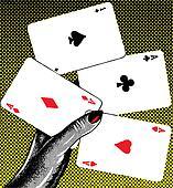 Poker pop retro