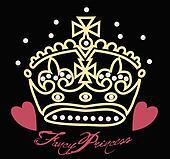 Appealing princess crown vector photos