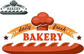 Bakery shop emblem or logo
