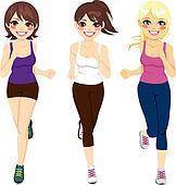 Women Athlete Runners