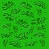 green palm illustration