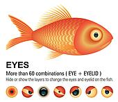 Fish overwhite