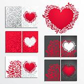 Valentine\'s day greeting card