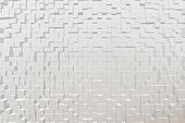 Tissue texture, 3d block style
