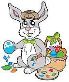 Easter bunny artist