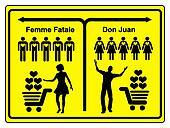 Femme Fatale and Don Juan