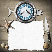 Seafood Menu Background