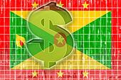 Flag of Grenada finance economy