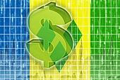 Flag of Saint Vincent and Grenadines finance economy