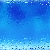 Water droplets raindrops background