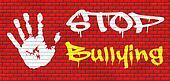 stop bullying graffiti