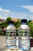 Bottles of drinking water