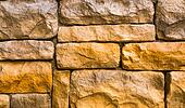 Background of strong brick wall texture