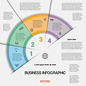 Business infographic for success project and other Your variant,
