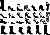 shoes, vector