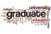 Graduate word cloud