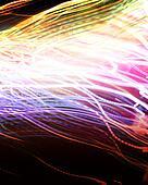 abstract neon light
