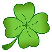 Green cloverleaf