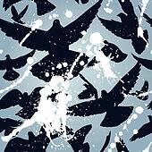 Bird mess tile