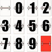 number clock counter