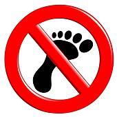 Forbidden Walking