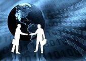 Virtual Business Handshake