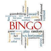 Bingo Word Cloud Concept