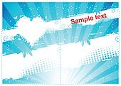 Gift card design.Place your text here.