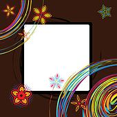 Picture frame design, place for your image or text