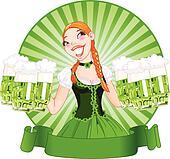 Saint Patrick\'s Day Girl