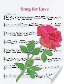 Beautiful vector red rose