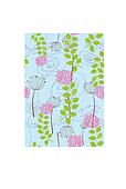 Rose, dandelion and flower wallpaper