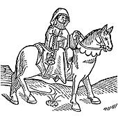 The Prioress from Canterbury Tales