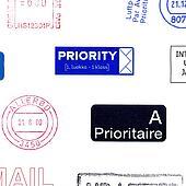 Postage meters stamps