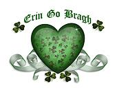 Erin go bragh St Patricks card